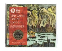 2016 £2 Great fire Of London Brilliant Uncirculated pack for sale